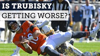 Is Mitch Trubisky getting worse?   Football Aftershow   NBC Sports Chicago