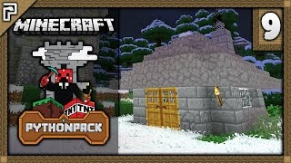 💎 Python Pack (Modded 1.11) | Chimneys! QUICK Obsidian! | Let's Play Minecraft Survival [Episode 9]