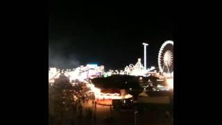 Oktoberfest 2011 - Theresienwiese von der Ruhmeshalle