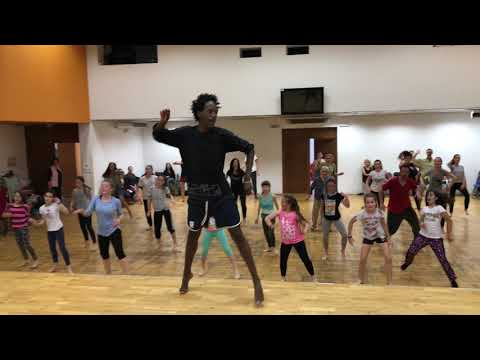 Days of Afrika in Bulgaria /Burgas/ - African dance lesson