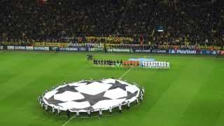 Borussia Dortmund vs Olympique de Marseille - Champions League Song (Anthem)