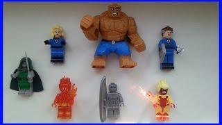 Новый Обзор мини-фигурок Лего 2015 из Китая 3 часть