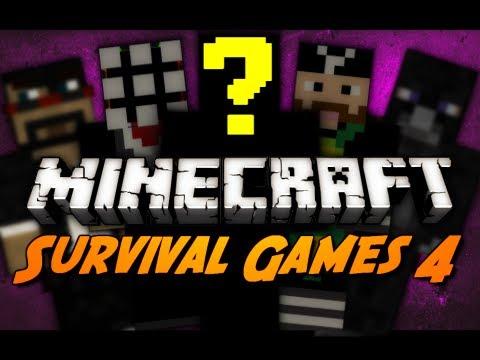 Minecraft: The Survival Games 4 + Exhibition Game! (AntVenom POV)