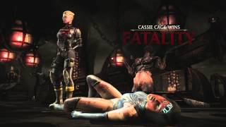 mortal kombat x all fatalities on kitana klassic mk2 costume xbox one ps4