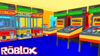 ROBLOX #182 | WE BUILD THE BEST GAMING ARCADE! | ARCADE TYCOON