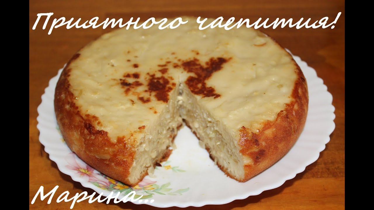 Капустный пирог в мультиварке redmond