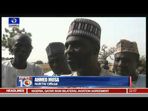 News@10: Nigeria, Qatar Sign Agreements On Bilateral Air Service -- 28/02/16 Pt. 1