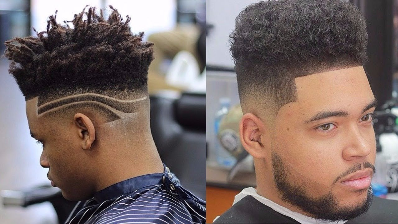 fade hairstyles black