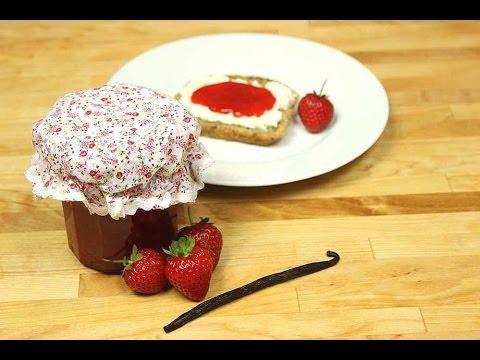 Erdbeer-Vanille-Marmelade selber machen