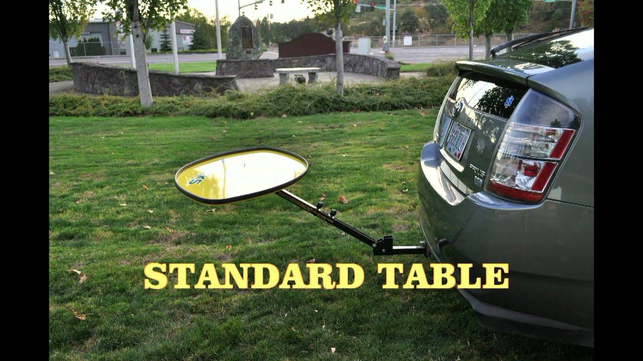 Tailgater Ultra Football Hitch Mounted Table