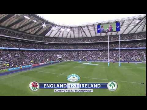 England vs Ireland - Full Match Rugby HD 720p50 | International 5th September 2015