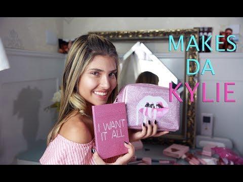 Testei: Makes da Kylie | Por Mafe Nóbrega
