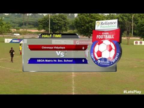 RFYS: Chennai Jr. Boys - Chinmaya Vidyalaya vs SBOA Matric Hr. Sec. School Highlights