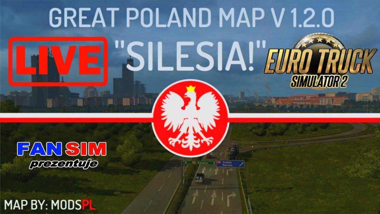Ets2 1 28 Great Poland Map 1 2 0 Ktora To Juz Mapa Polski Youtube