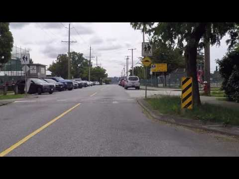 Living in New Westminster BC Canada - Residential Neighborhood - Suburb of Vancouver