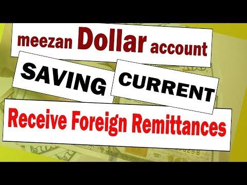 Meezan Dollar Account : Saving And Current Dollar Account (2019)