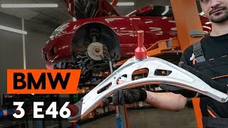 Instalace přední a zadní Řídící páka zavěšení kol BMW 3 SERIES: video příručky
