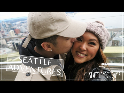 Space Needle, Chihuly Garden & Glass, & Molly Moon's! | Seattle 2017 | Day 3