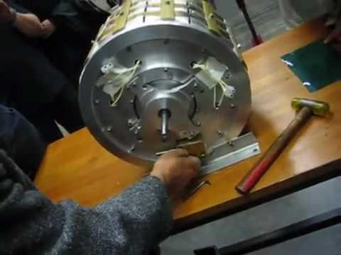 Muammer Yildiz - Magnet Motor Demo-3 ( FREE ENERGY )