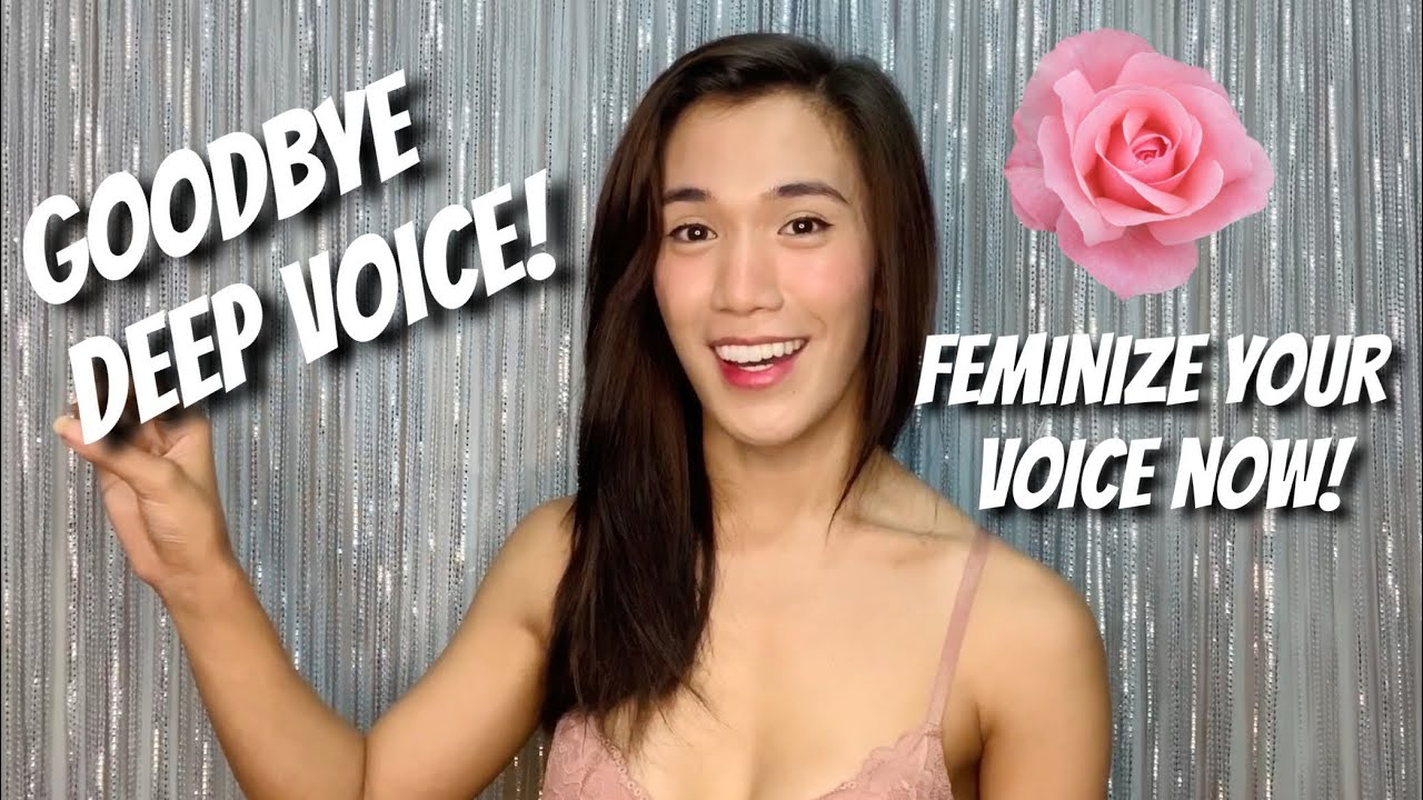 How To Feminize Your Voice Mtf Transgender Easy Effective Youtube