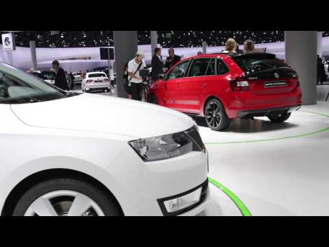Frankfurt Motor Show 2013 - Skoda Rapid Spaceback