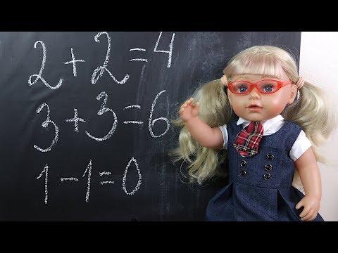 Видео: Кукла Эмили Идет в Школу Мультик Школа Для детеи Игрушки Детскии канал