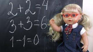 Кукла Эмили Идёт в Школу Мультик Школа Для детей Игрушки Детский канал