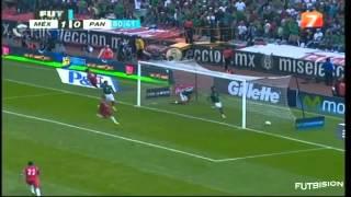 México vs Panamá 2-1 Hexagonal Final Eliminatorias CONCACAF para el Mundial de Brasil 2014 - Goles