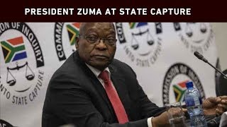Former President Jacob Zuma resumed his testimony at the state capture commission of inquiry on Tuesday, where his legal team began by stating that his personal assistant received a call on Monday night in which an unidentified person threatened to kill the former president and his associates.