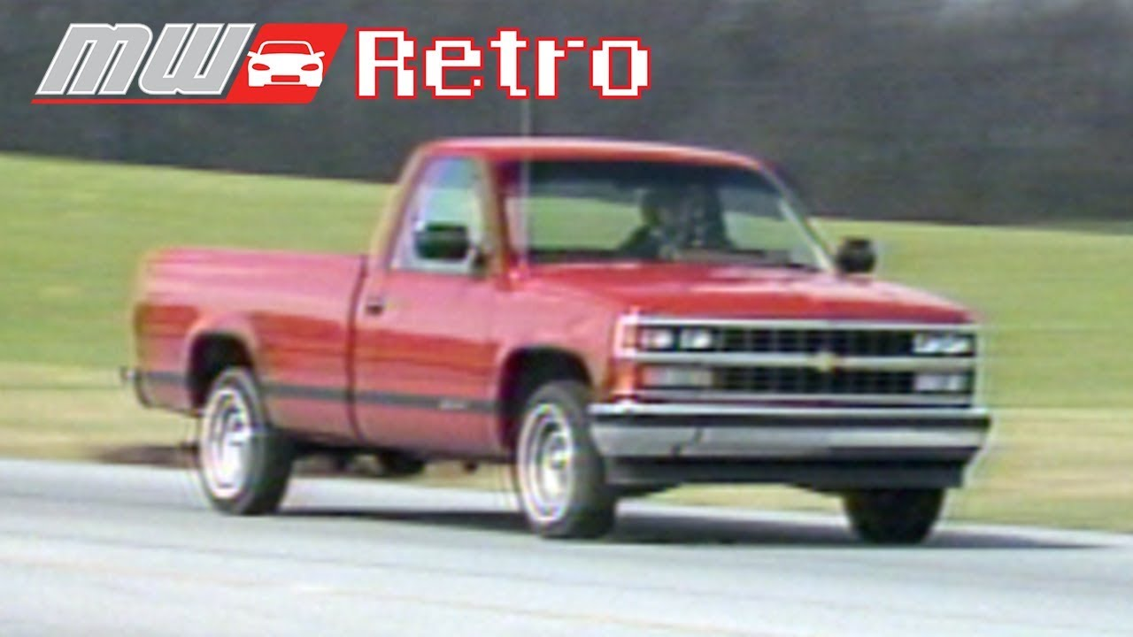 1988 Chevy Cheyenne Motorweek Review Gm Authority