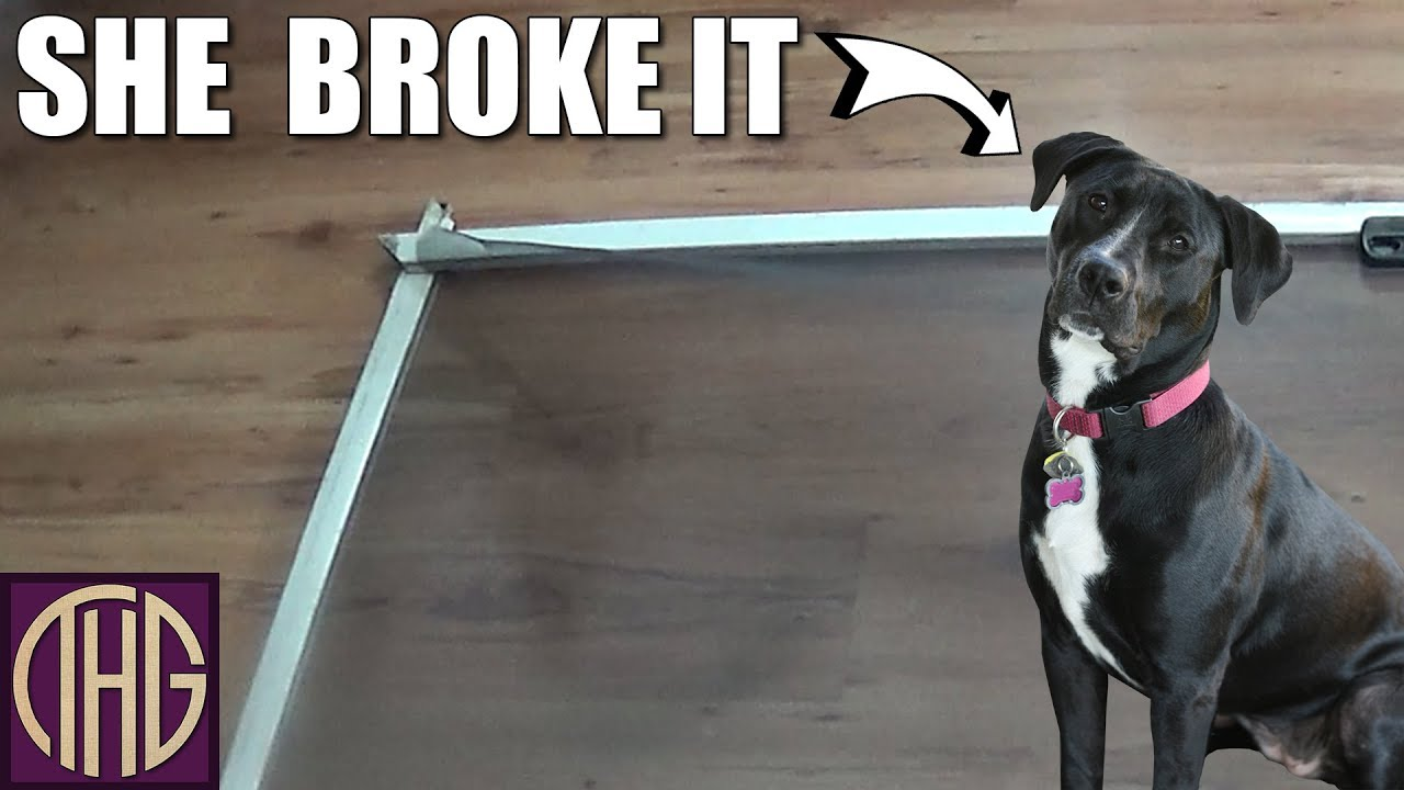 How To Fix A Screen Door And Save Money Youtube