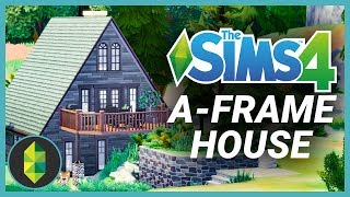 A-Frame House (Sims 4 Build)