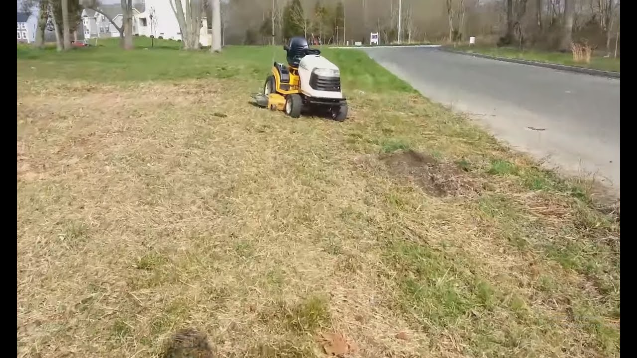 Cub Cadet Gt2550 Problems Home Design Ideas Wiring Diagram Mowing Weeds And Driving The You
