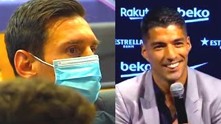 This was HEAVY! This is WHAT SUAREZ SAID about MESSI and BARCELONA at press conference!