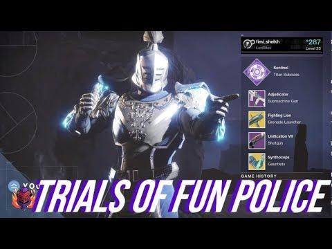 Destiny 2 - Trials of FUN POLICE 14