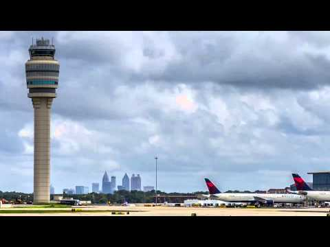 Recent Atlanta Time-Lapse | Atlanta Hartsfield-Jackson Airport + Downtown