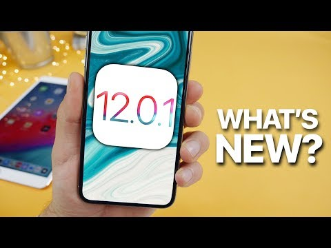 iOS 12.0.1 Released! What's New?