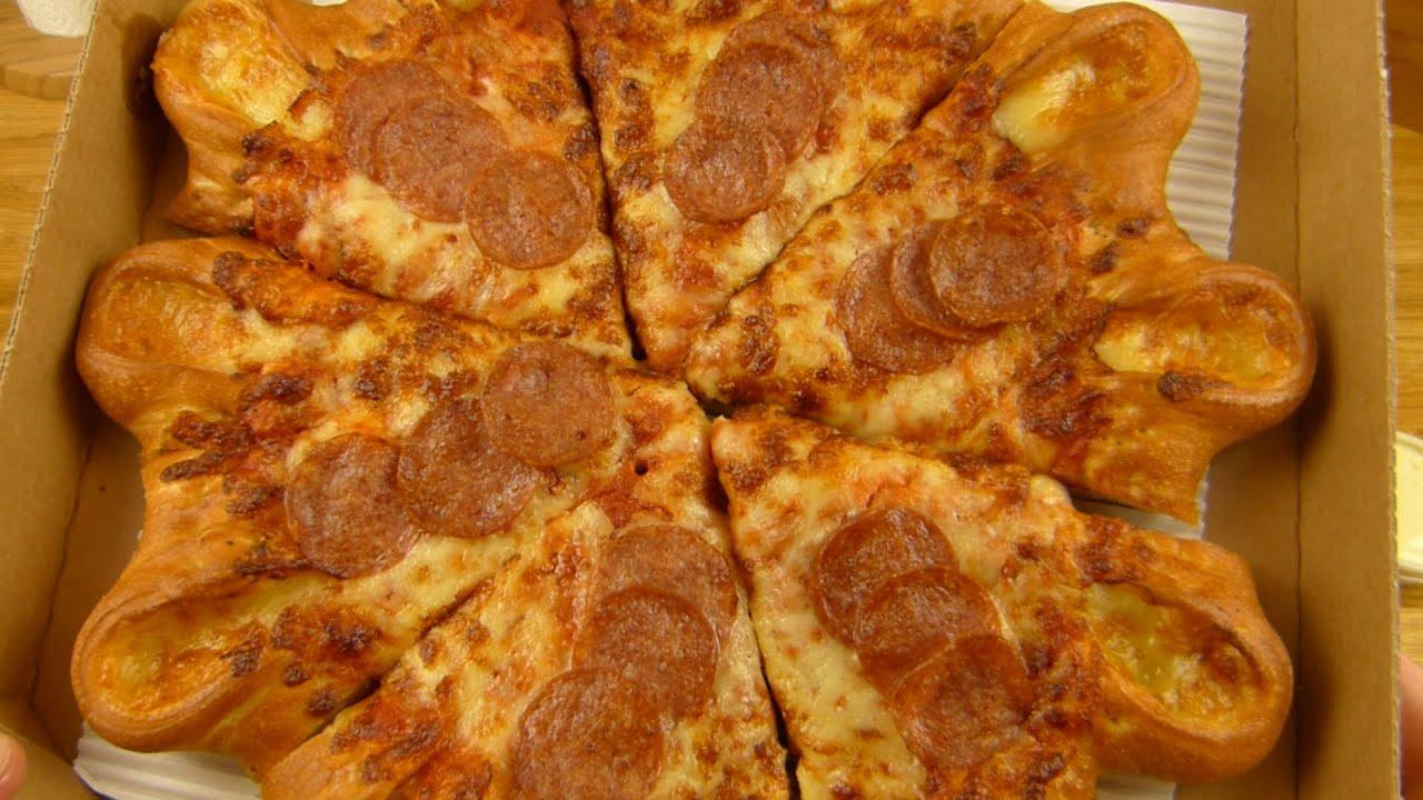 how to make stuffed crust pizza like pizza hut