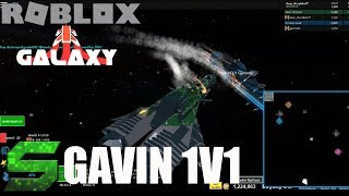 Roblox:Galaxy:1v1ing The WORST PLAYER IN GALAXY EVER!!