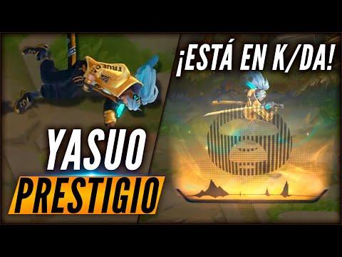 YASUO True Damage PRESTIGIO - AHORA ES DE K/DA ¡Nueva skin!