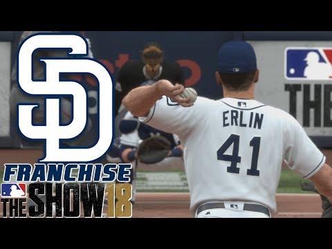NO HITTER BID - MLB The Show 18 - Franchise - San Diego ep. 4
