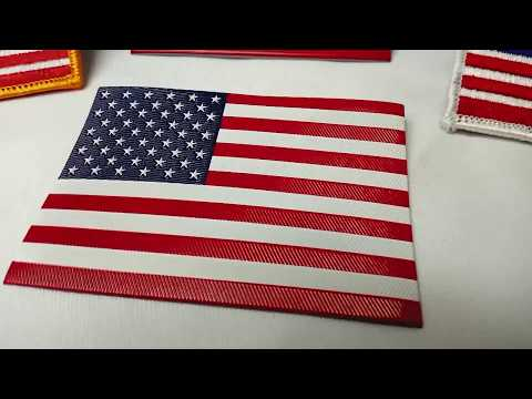 American Flag Patches: FlexStyle Or Embroidery?