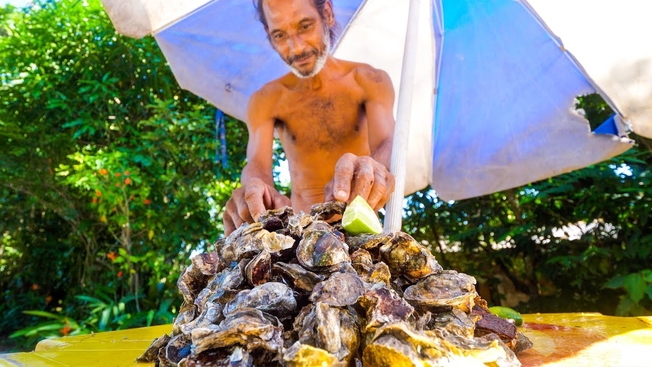 Rio S Oyster Man Brazilian Seafood Claypot Fish In Rio De Janeiro Brazil