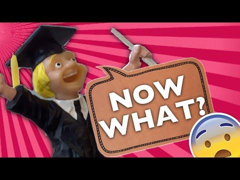 Don't Panic: A Message to Graduates