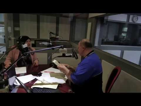 Sawsan Khamis interviewed by Mr. Victor from 1450 radio station in Montreal
