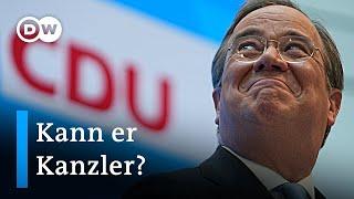 Armin Laschet: Wofür steht der Kanzlerkandidat der Union? | DW Nachrichten
