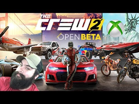xbox one x live the crew 2 open beta 1 youtube. Black Bedroom Furniture Sets. Home Design Ideas