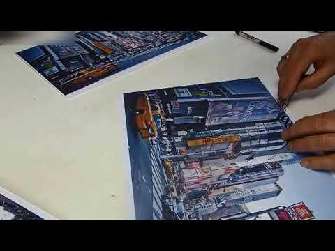 Surréaliste DIY Déco : Comment réaliser un Tableau photo en 3D ? - YouTube ZQ-63