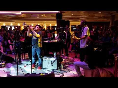 Ivan Neville Piano Room - Jam Cruise 16 - January 2018