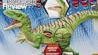 Jurassic World� Hybrid Velociraptor Growler Figure Review
